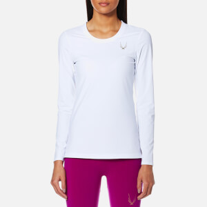 Lucas Hugh Women's Aerial Running Long Sleeve Top - White
