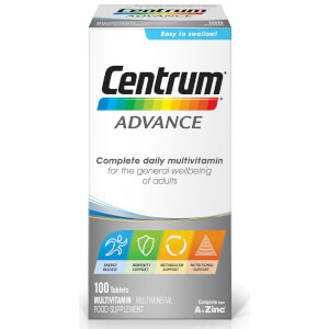 Comprimidos Multivitaminas Advance da Centrum - (100 Comprimidos)