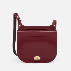 The Cambridge Satchel Company Women's Conductor's Bag - Oxblood Patent