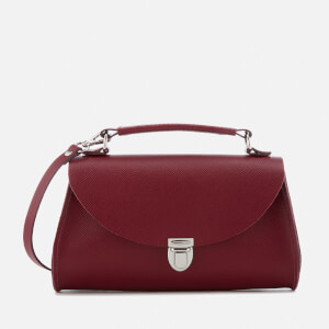 The Cambridge Satchel Company Women's Mini Poppy Bag - Rhubarb Red Saffiano