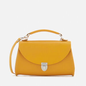 The Cambridge Satchel Company Women's Mini Poppy Bag - Mustard Saffiano
