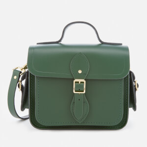 The Cambridge Satchel Company Women's Traveller Bag with Side Pockets - Racing Green