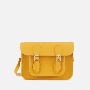 The Cambridge Satchel Company Women's 11 Inch Magnetic Satchel - Mustard Matte
