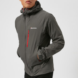 Montane Men's Minimus Stretch Jacket - Shadow/Alpine Red