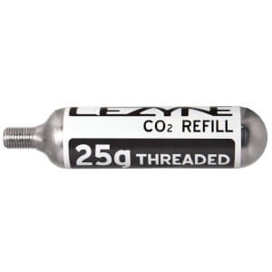 Lezyne 25g Threaded CO2 Cartridge - 5 Pack