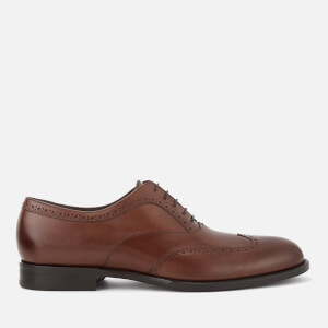BOSS Hugo Boss Men's Manhattan Leather Brogues - Medium Brown