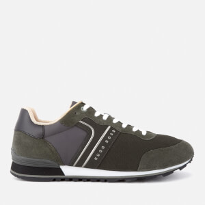 BOSS Green Men's Parkour Runner Trainers - Dark Green