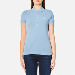 Polo Ralph Lauren Women's Julie Polo Shirt - Sterling Blue