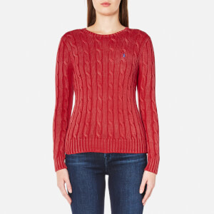 Polo Ralph Lauren Women's Julianna Jumper - Faded Red