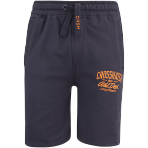 Crosshatch Men's Digs Jog Shorts - Blue Night