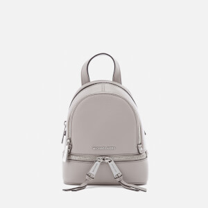 MICHAEL MICHAEL KORS Women's Rhea Zip Extra Small Backpack - Cement