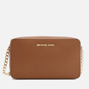 MICHAEL MICHAEL KORS Women's Jet Set Medium East West Cross Body Bag - Luggage