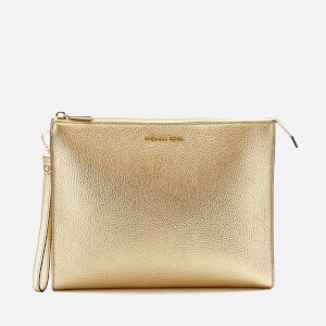 MICHAEL MICHAEL KORS Women's Mercer Large Box Travel Pouch - Pale Gold