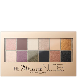 Paleta de Sombras de Olhos 24 Karat Nudes da Maybelinne 10 g