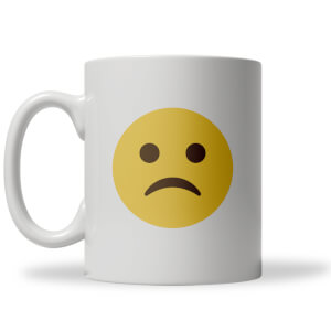 Sad Face Emoji Mug