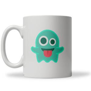 Taza Emoji Fantasma