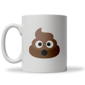 Poo Face Emoji Mug