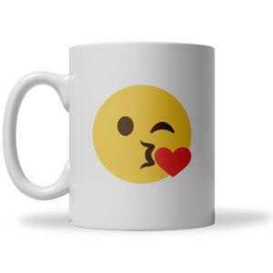 Blow Kiss Emoji Mug