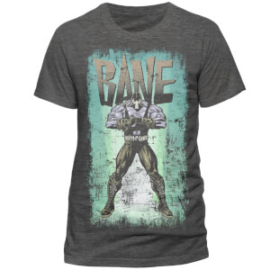 T-Shirt Homme DC Comics Batman Logo Authentique - Gris