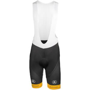 Telenet Fidea Bib Shorts - Black/Yellow/White