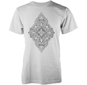 Camiseta Abandon Ship Floral Diamond - Hombre - Blanco