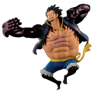 Statuette Banpresto One Piece Big Zoukeio Special - Gear 4th Monkey D Luffy