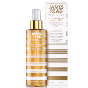 Espray bronceador iluminador H2O de James Read 200 ml