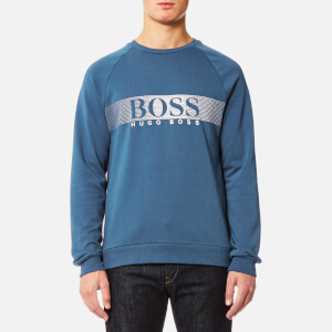 BOSS Hugo Boss Men's Long Sleeve Sweatshirt - Blue