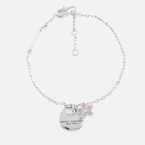 Marc Jacobs Women's MJ Coin Bracelet - Silver