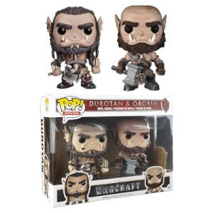 Warcraft Durotan & Ogrim EXC Funko Pop! Vinyl 2-Pack