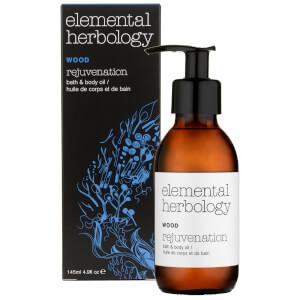 Elemental Herbology Wood Rejuvenation Bath and Body Oil 145ml