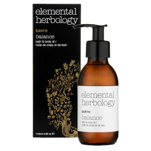 Elemental Herbology Earth Balance Bath and Body Oil 145ml