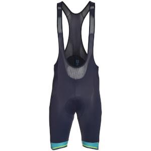 Santini Bergamo Collection Colle Gallo Bib Shorts - Blue