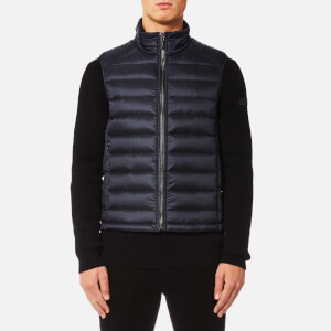 HUGO Men's Birok Gilet - Navy
