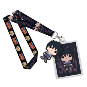 Porte-Clefs Lanière Pop! Naruto Sasuke