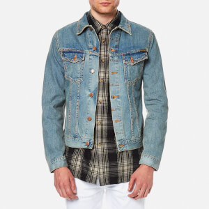 Nudie Jeans Men's Billy Trucker Jacket - Worn Clean