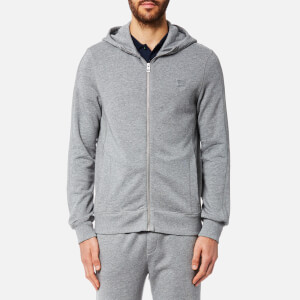 BOSS Orange Men's Ztadium UK Hooded Sweatshirt - Grey