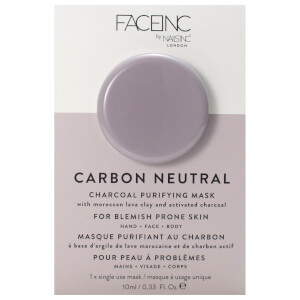 Masque Purifiant au Charbon FACEINC by nails inc. 10 ml