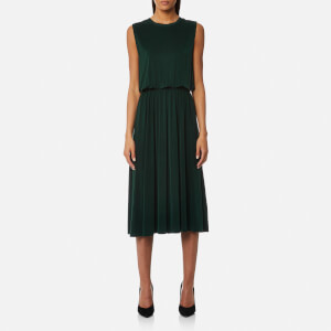 Samsoe & Samsoe Women's Judy Open Back Dress - Green