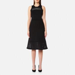 MICHAEL MICHAEL KORS Women's Pointelle Flare Dress - Black