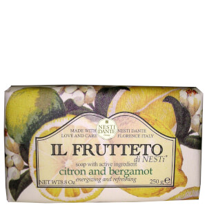 Натуральное мыло «Лимон и бергамот» Nesti Dante Il Frutteto Citron and Bergamot Soap 250 г