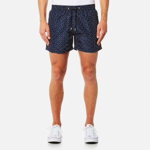 Paul Smith Men's Classic Spot Swim Shorts - Navy