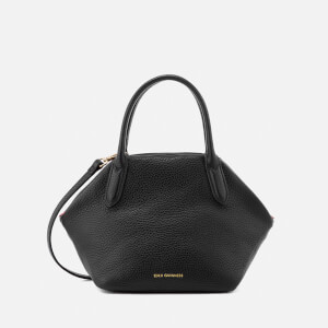 Lulu Guinness Women's Small Peekaboo Lip Valentina Tote Bag - Black