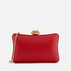 Lulu Guinness Women's Smooth Leather Lavinia Bag - Red