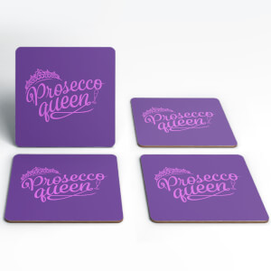 Prosecco Queen Coasters