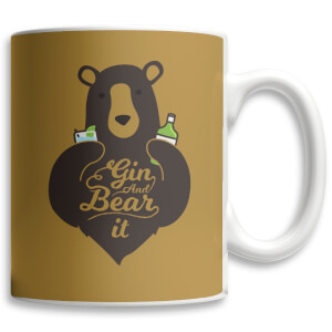"Taza ""Gin And Bear It"""