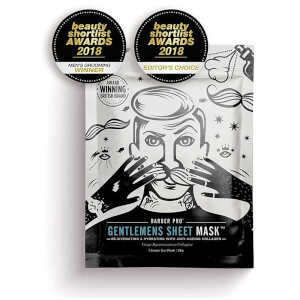 Увлажняющая маска с коллагеном BARBER PRO Gentlemen's Sheet Mask Rejuvenating and Hydrating with Anti-Ageing Collagen