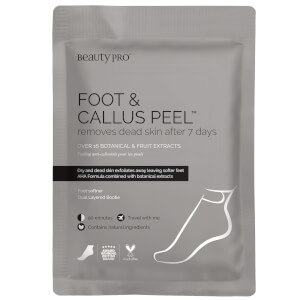 BeautyPro Foot and Callus Peel with over 17 Botanical & Fruit Extracts (1 par)