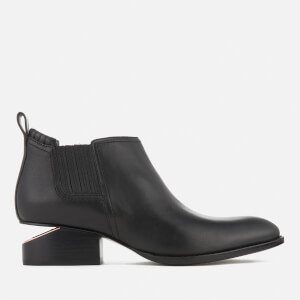 Alexander Wang Women's Kori Leather Chelsea Boots - Black/Rose Gold