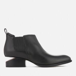Alexander Wang Women's Kori Leather Chelsea Boots - Black/Rose Gold
